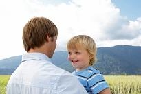 regard croisé : père et fils